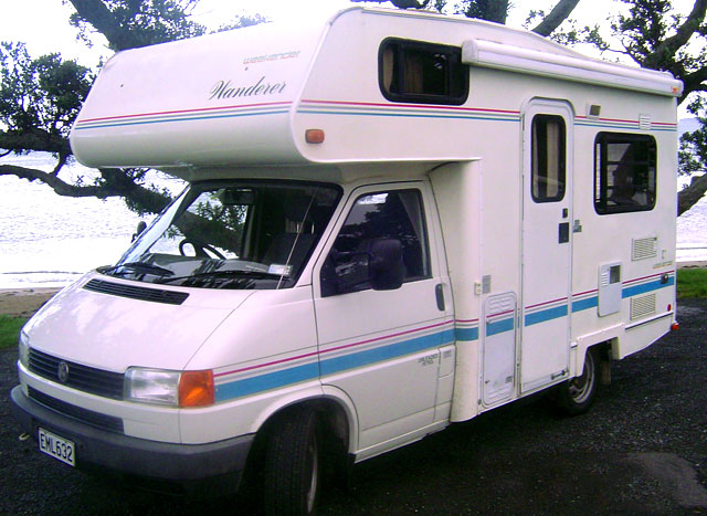 Winnebago Motor Home Classic Camper Hire New Zealand