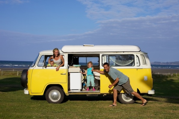 Retro VW Campervan for hire - Sunny